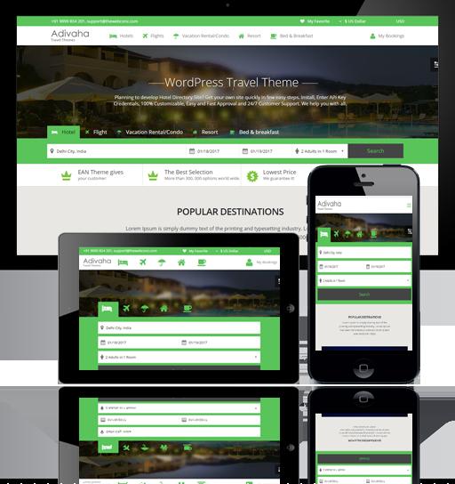 Hotel Booking Api Integration, Wordpress Expedia Theme, Wordpress ...